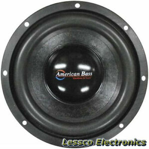 pair american bass 10 car subwoofer 1200 watts max 4. Black Bedroom Furniture Sets. Home Design Ideas