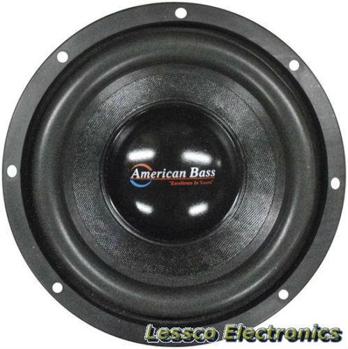 "American Bass XFL-1244-V2 12/"" Dual 4-Ohm XFL Series Car Subwoofer Sub 2000W"