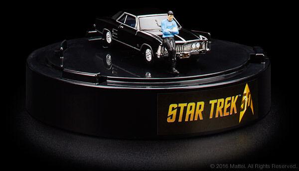 San Diego comic-con 2016 exclusivo Mr. Spock Star Trek Hot Wheels'64 Buick Riviera Conjunto de 2