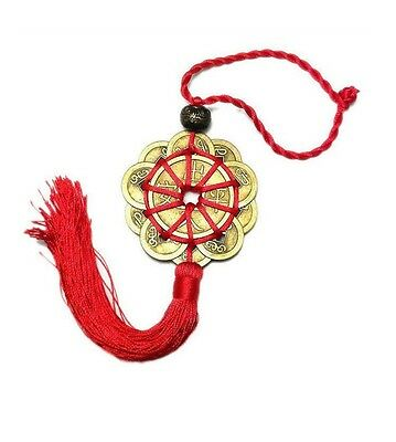 FENG SHUI Lucky Charm Ancient I CHING Coins Prosperity Protection