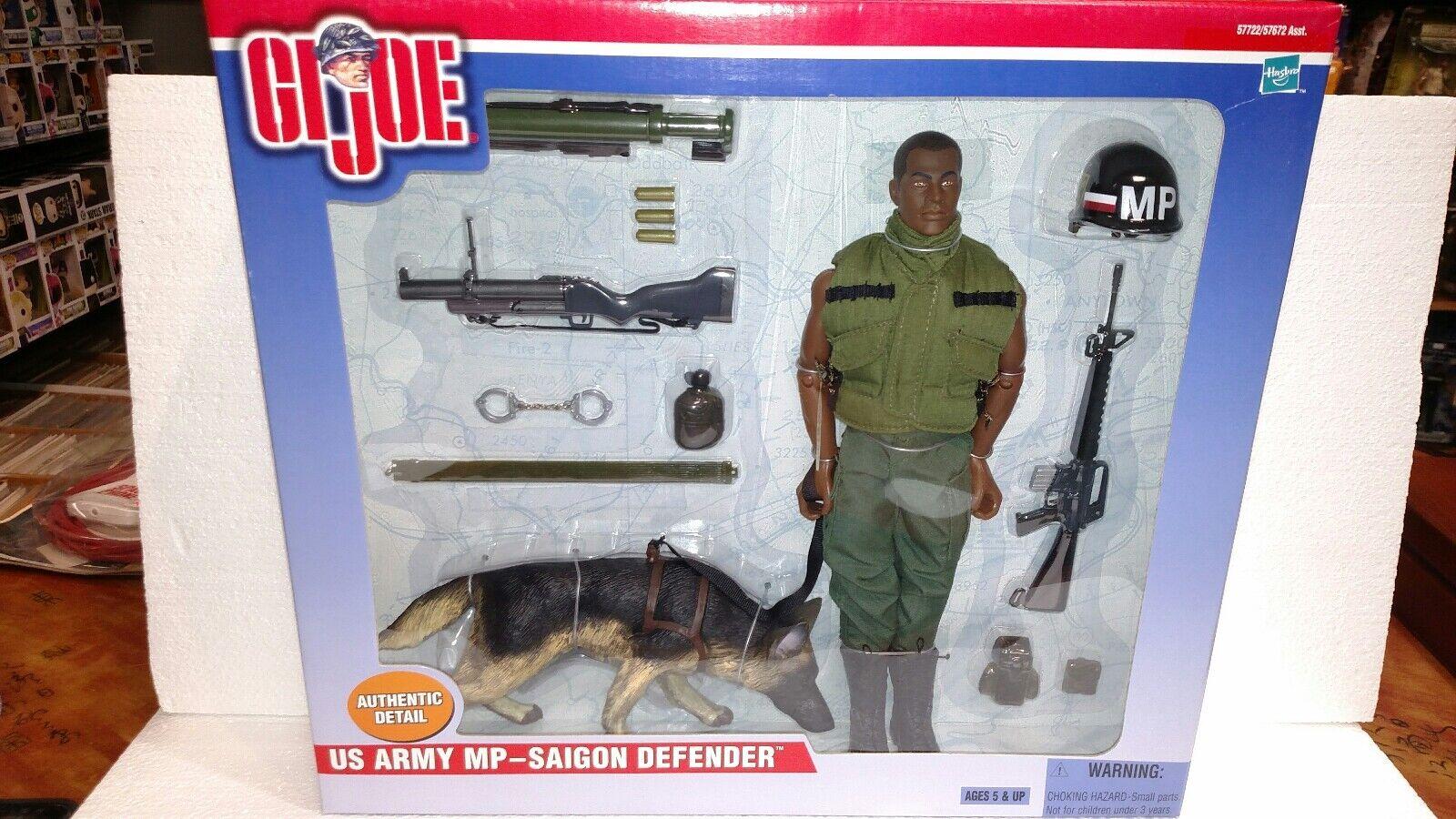 2000 hasbro gi joe us army mp saigon Grüneidiger mit hunden afrikanischen joe neue