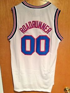 a346aadc1 Roadrunner  00 Space Jam Tune Squad Basketball Jersey S M L XL XXL ...