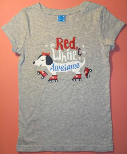 Childrens Short-Sleeve 100/% cotton Tee-Shirt w//Cute Dachshund Design Size Small
