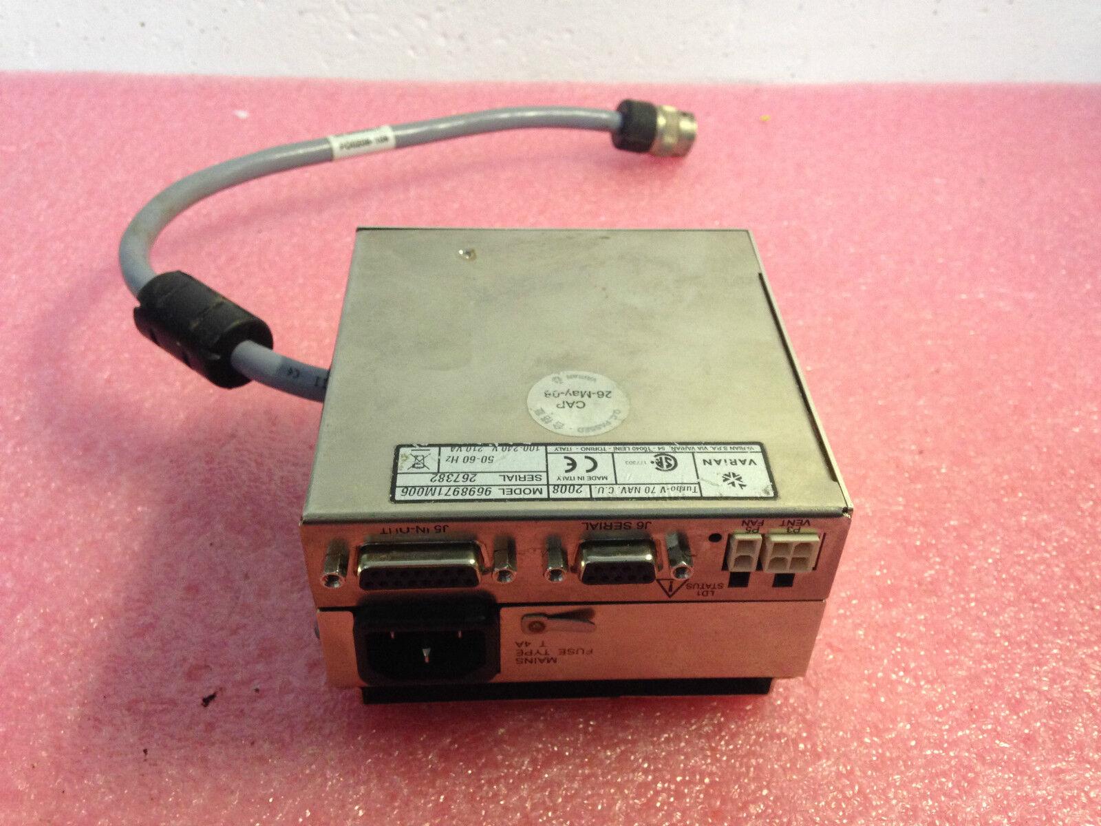 VARIAN TURBO V 70 NAV C.U MODELL 9698971M006 KONTROLLER