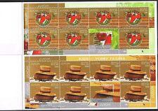 Weißrußland  593/94 2 MH 9 + 10  ** Europa 2005 Booklet (3159)