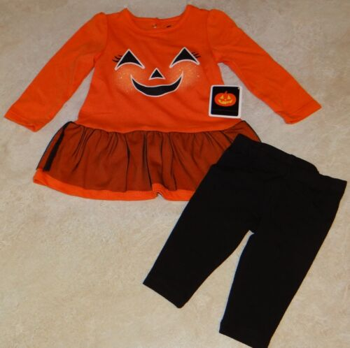 Infant Girls Halloween or Everyday 2 Piece Outfit