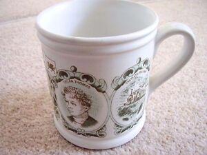 DENBY-CADBURY-039-S-REGIONAL-MUG-WALES-England-Porcelain-mug-cup
