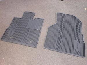For Chevrolet Equinox 10-17 Front All Weather Floor Mats Black GM Genuine OEM