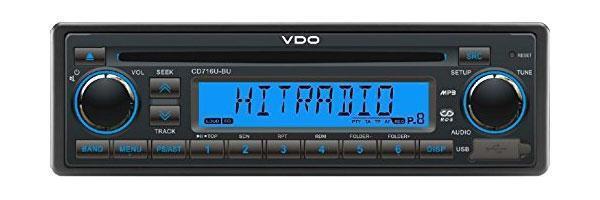 VDO CD716U-BU - CD/MP3-Autoradio mit AUX-IN - USB - CD 716U BU