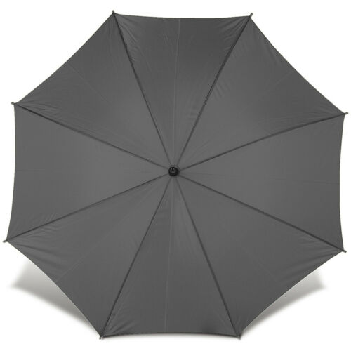 Classic Automatic City Umbrella with Wooden Crook Handle Wedding Brolly Walking