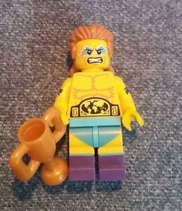 New LEGO Minifigure Series 15 Wrestling Champion Figure
