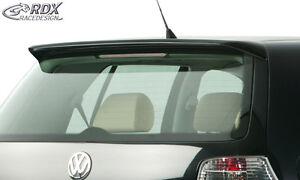 RDX-Dachspoiler-VW-Golf-4-Heckspoiler-Heck-Dach-Fluegel-Spoiler-Dachkantenspoiler