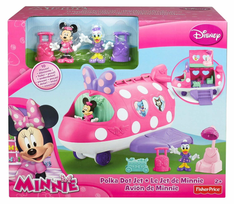 Mattel Y1890 - Minnie Mouse Minnie's Fashion Jet - Neu / OVP