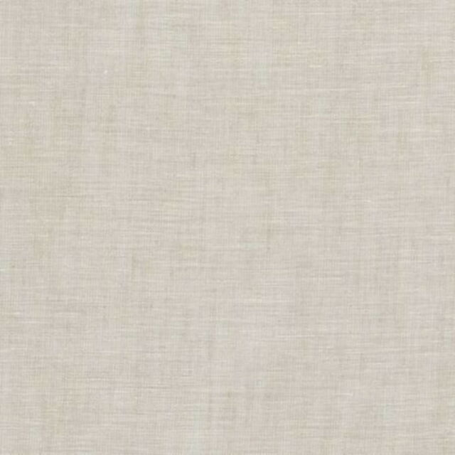 Clarke and Clarke - Lino - Oatmeal - Large Fabric Remnant - 208cm x 105cm