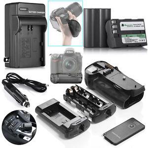 MB-D10-MBD10-Battery-Grip-For-Nikon-D300-D300S-D700-D900-2pcs-EN-EL3E-Battery