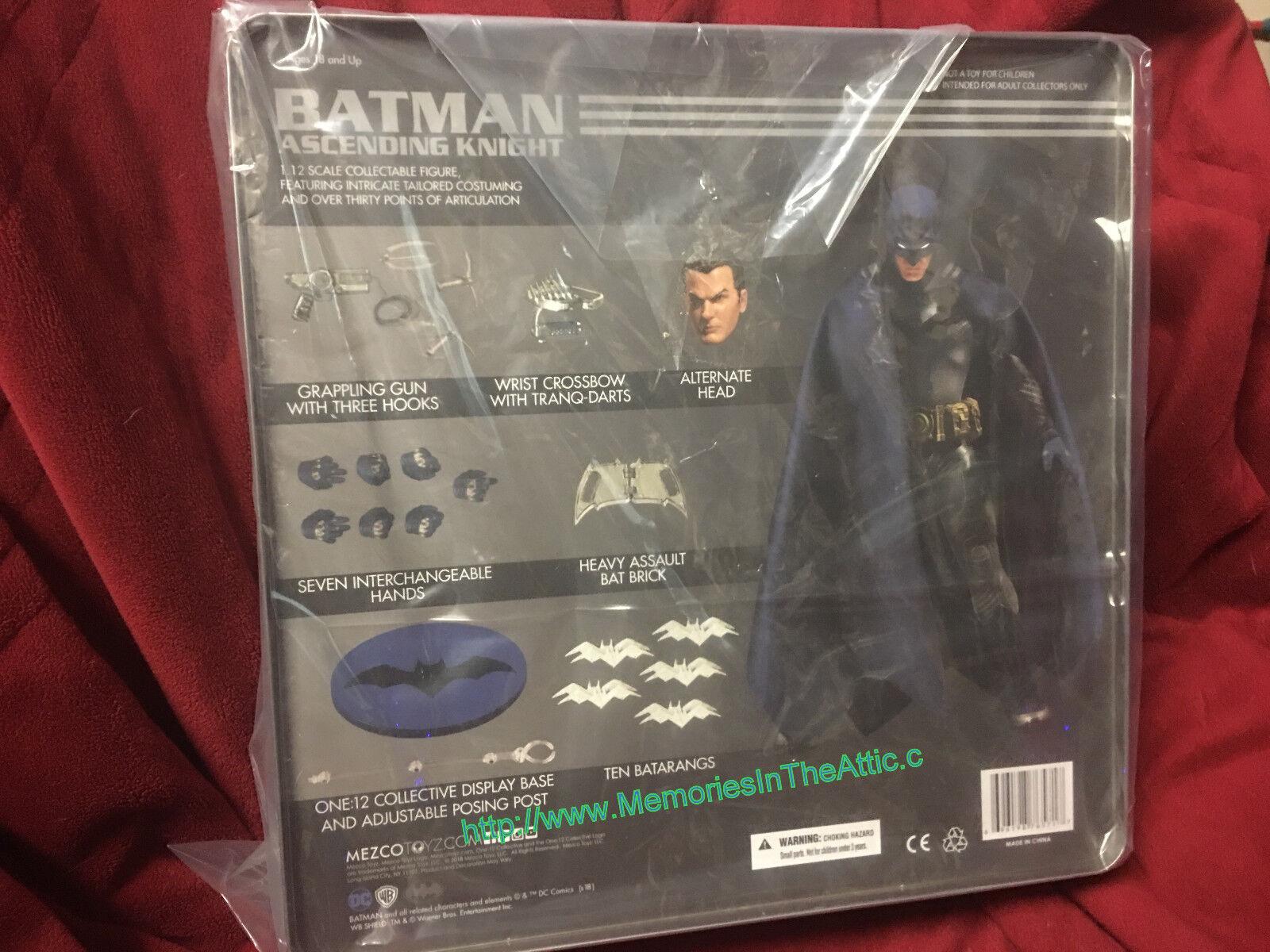 Mezco One:12 Collective DC PX Previews Exclusive Ascending Knight Batman Blau +