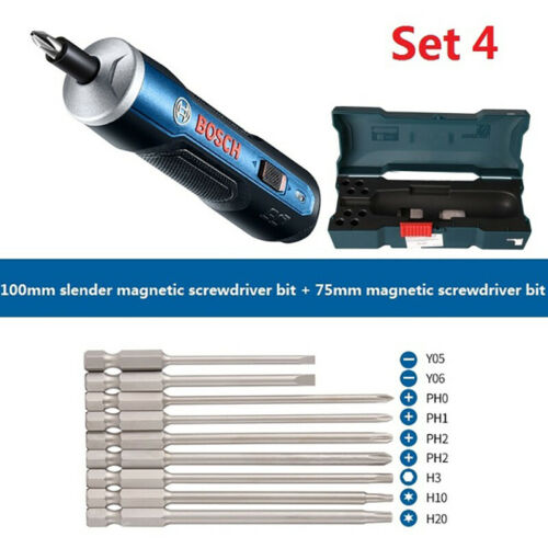 BOSCH GO Mini Electrical Screwdriver 3.6V Rechargeable Cordless Power Drill