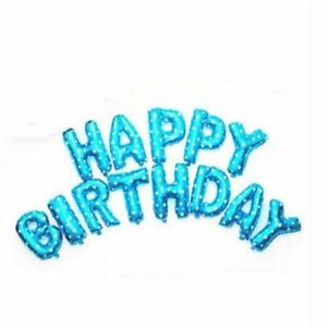 Blue-Star-Happy-Birthday-Foil-Balloon-Bunting-Banner-Set-FREE-Straw-amp-Ribbon