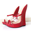 Sexy-Women-Extreme-Killer-18cm-High-Heel-Clear-Wedge-Mule-Sandals-Slipers-Fetish thumbnail 3