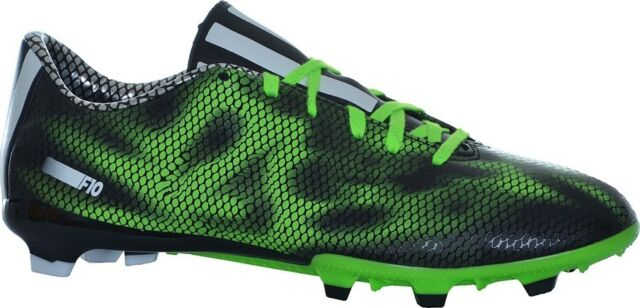 81fa848c7549 adidas F10 FG Mens Football BOOTS All Sizes and Colours UK 9 Green ...
