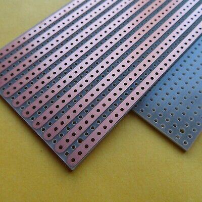 5pcs Stripboard Veroboard 8x11cm pcb 3//5er joint hole Prototype Paper pcb FR4