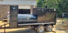 Mega Big Smokey Bbq Smoker Trailer Business Catering Food Truck Restaurant