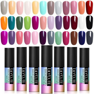 5ml 180 Colors Soak Off UV Gel Nail Polish UV/LED Gel Nails Manicure LILYCUTE