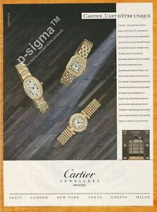 CARTIER-jewels-amp-watches-1989-Vintage-Print-Ad