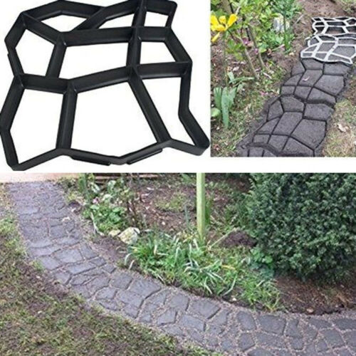 1Pc DIY Path Making Mold Unique Manually Personality Garden Paving Mould