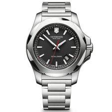 Victorinox Swiss Ejército Reloj para hombres I.N.O.X. Esfera Negra 241723.1 Distribuidor Autorizado
