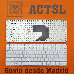 Keyboard Spanish for HP Pavilion g4-2149se Gray frame White ZcD7vkVQ-09105449-690065809