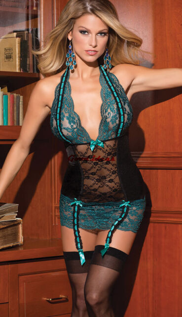 Sexy Lingerie Slim Bodycon Minidress Erotic Underwear Sleepwear Plus Size M-3XL