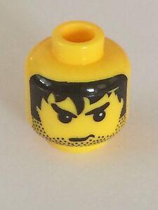 NEW bulk LEGO x 20 Yellow Minifig Plain Head