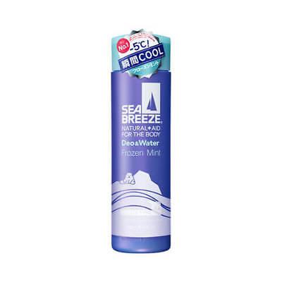 ☀Sea Breeze Deo & Water Ice type Frozen scent of mint 160ml