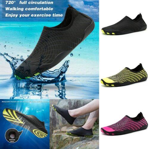 Men Womens Water Shoes Aqua Beach Rubber Shoes Swim Surf Shoes Size Non-slip
