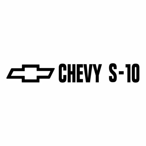 Chevy s-10 tailgate decal//sticker 15x3 2