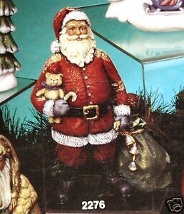 Ceramic-Bisque-Traditional-Santa-Kimple-Mold-2276-U-Paint-Ready-To-Paint