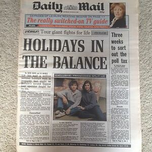 Daily-Mail-newspaper-9th-March-1991