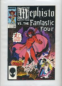 46294f35a0 Marvel- Mephisto Vs. Fantastic Four X-Men Avengers X-Factor 1-4 F ...