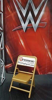 WWE MATTEL accessori Wrestling Sedia pieghevole d/'oro per le figure loose nel Regno Unito TLC