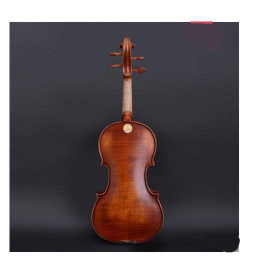 E14 Handmade 1 4 storlek Wooden Violin Beginners Practice Musical Instrument M