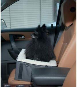 Pet Gear Dog Pet Elevated Raised Booster Car Seat Bed Medium Slate
