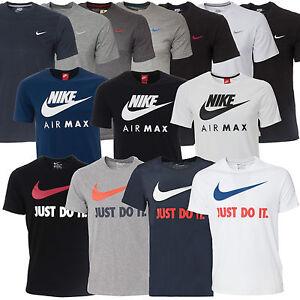 New Mens Nike T-shirt Top Retro Sizes S M L XL XXL Tshirt T Shirt 10 + styles
