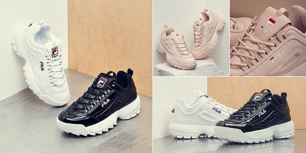 NUOVO FILA Disruptor II 2 Bianco AUTHENTIC AUTHENTIC AUTHENTIC scarpe unisex taglia 3df9ef