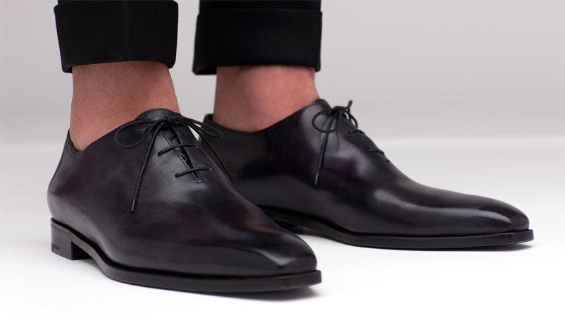 ecco l'ultimo Handmade Uomo Uomo Uomo nero leather scarpe, Uomo lace up formal scarpe, dress scarpe for men  offrendo il 100%