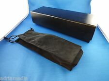 Original vertu Cuero Funda Leather negro Black bolso ascent Constellation nuevo