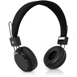 v7 headset kopfh rer mit mikrofon stereo f r ipod smartphone tablet schwarz ebay. Black Bedroom Furniture Sets. Home Design Ideas