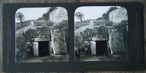 Photographica Stereo-betrachter & -bilder Ehrlich Altes Raumbild Stereofoto 3d Dalmatien Ruinen Von Salona Schachtgrab Um 1910
