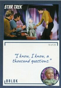Star-Trek-TOS-Archives-amp-Inscriptions-card-16-Balok-Variation-16-out-of-24