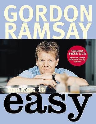 """AS NEW"" Gordon Ramsay, Gordon Ramsay Makes It Easy Book"